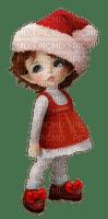 noel Christmas doll girl vintage