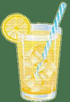 image encre limonade citron boisson jaune edited by me