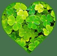 st.patrick clover heart shamrock