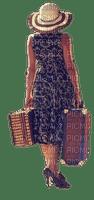 Femme.Woman.valise.voyage.Victoriabea