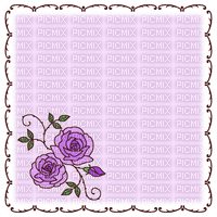 Fond violet avec rose violette Debutante fleurs purple bg purple flower purple rose