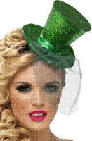 St. Patrick's Day woman femme frau tube green human beauty