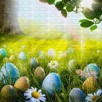 easter bg meadow