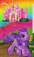 multicolore image encre bon anniversaire néon château color fantaisie effet poney   edited by me