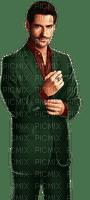 Man Green Maroon Brown - Bogusia