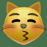 Kissing cat emoji