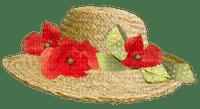 Hat.Chapeau.Sombrero.fleurs.flowers.Coquelicots.poppies.Victoriabea
