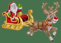 santa clause sleigh reindeer noel