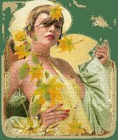 femme, Art deko autumn, Pelageya