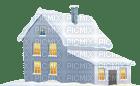 casinha na neve