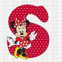 image encre lettre S Minnie Disney edited by me