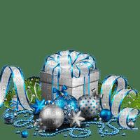 chantalmi déco noël cadeau gilt bleu blue