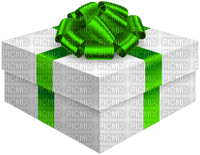 Kaz_Creations Gift Box Birthday Ribbons Bows  Occasion Green