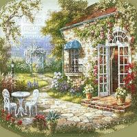 summer house  paysage maison  êtê