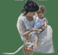 femme avec bébé