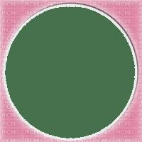 circle frame pink