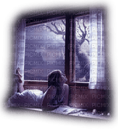 woman window fantasy femme fenetre fantaisie