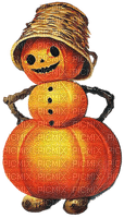 halloween pumpkin  man vintage