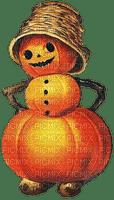 halloween pumpkin  man vintage