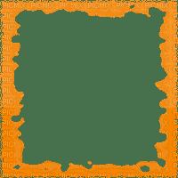 Transparent Wave Background~Orange©Esme4eva2015