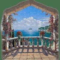balcony veranda  paysage
