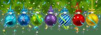 pine tree branch deco christmas balls sapin noel boule
