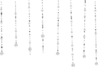 pearls vintage white perlen bulle frame cadre rahmen tube deco line