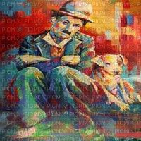 pop art charlie chaplin bg fond