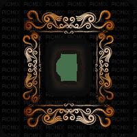 vintage frame cadre tavasz