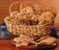 panier cadeau à biscuits