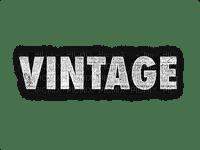 text vintage white