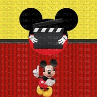 multicolore rayures image encre bon anniversaire color effet  Mickey Disney edited by me