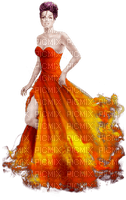 femme en orange.Cheyenne63
