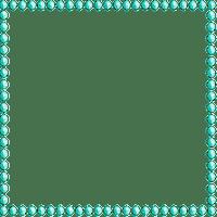 Deco Pearl Frame~Teal©Esme4eva