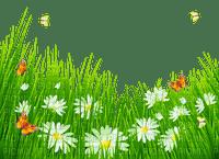 Kaz_Creations Deco Flowers Grass Garden Butterflies