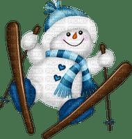 snowman ski hiver bonhomme de neige