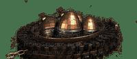 steampunk eggs nest nid d'oeuf de pâques