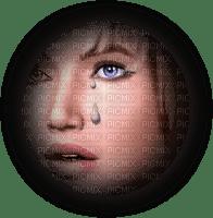 cecily-visage femme larme