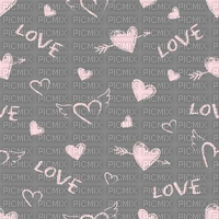 Love, Heart, Hearts, Pink, Grey, Deco, Background, Backgrounds - Jitter.Bug.Girl