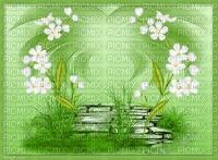 bg-background-green--grön-flowers--blommor
