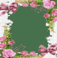cadre pink rose frame roses pink