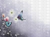 image encre la nature bon anniversaire fleurs papillon edited by me