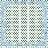 snowflake frame blue cadre de flocon de neige