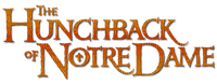 the hunchback of notre dame TEXT LOGO