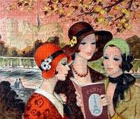 image encre femmes vintage fashion edited by me