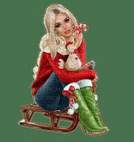 Kaz_Creations Woman Femme Colours Colour-Girls Christmas