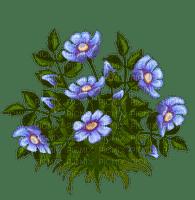 fleur bleu blue flowers deco
