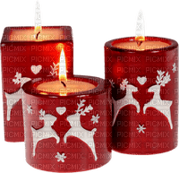 Noël décorations bougies_Christmas decorations candles_tube