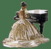 femme woman piano