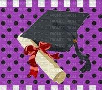 image encre color diplôme félicitations  effet à pois rayures   edited by me